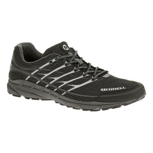 Mens Merrell Mix Master Move 2 Trail Running Shoe - Black/Silver 7.5