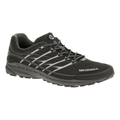 Mens Merrell Mix Master Move 2 Trail Running Shoe - Grey/Tahoe Blue 8