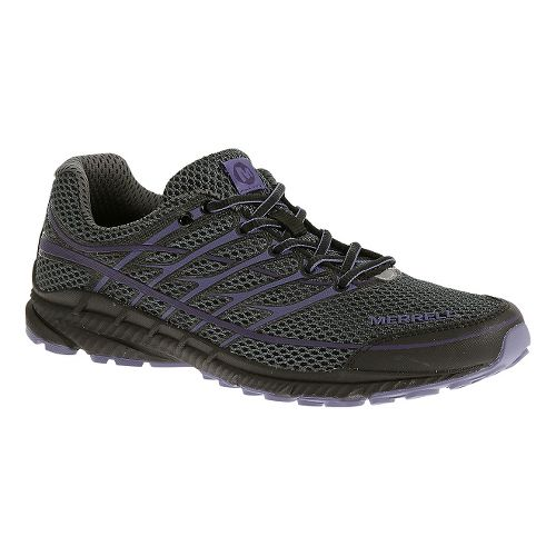 Womens Merrell Mix Master Move Glide 2 Trail Running Shoe - Dark Grey 8