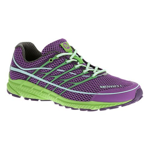 Womens Merrell Mix Master Move Glide 2 Trail Running Shoe - Lilac 11