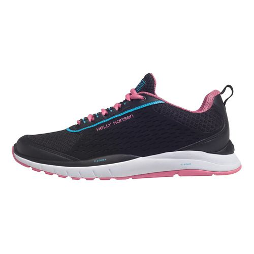 Womens Helly Hansen Panarena VTR Running Shoe - Oxford/Black White 9
