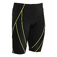 Mens CW-X Endurance Generator Unlined Shorts - Black/Green XL