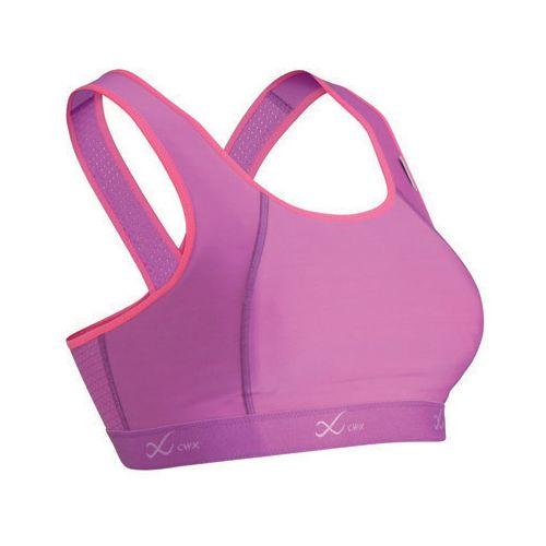 Womens CW-X Xtra Support Running III Sports Bra - Purple/Raspberry 34B/C