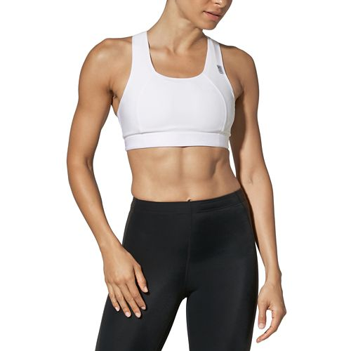 Womens CW-X Xtra Support Running III Sports Bra - White 34-D