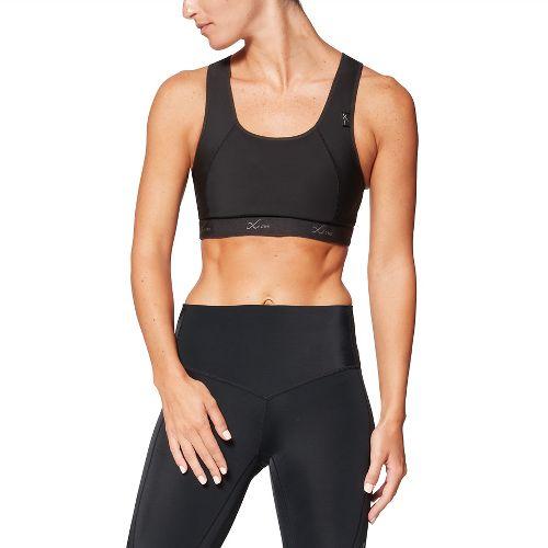 Women's CW-X Xtra Support Running Sports Bra III - Black/Fuchsia 38-B/C