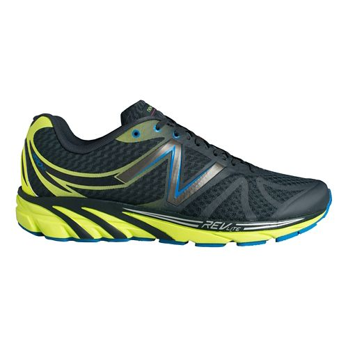 Mens New Balance 3190v2 Running Shoe - Grey/Yellow 13