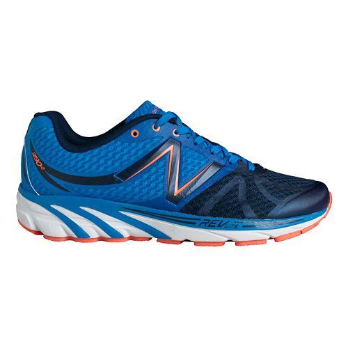 Mens New Balance 3190v2 Running Shoe - Blue/Orange 7