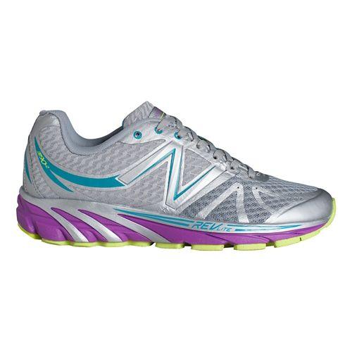 Womens New Balance 3190v2 Running Shoe - Silver/Purple 5
