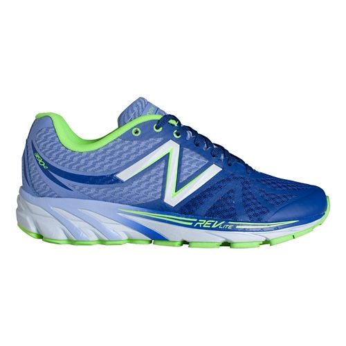 Womens New Balance 3190v2 Running Shoe - Purple/Green 11