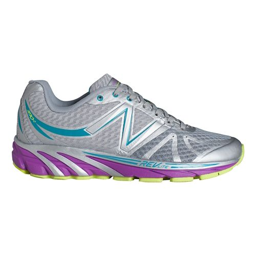 Womens New Balance 3190v2 Running Shoe - Silver/Purple 7.5