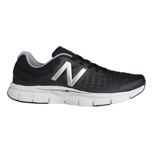 Mens New Balance 775v1 Running Shoe - Black/Sliver 15