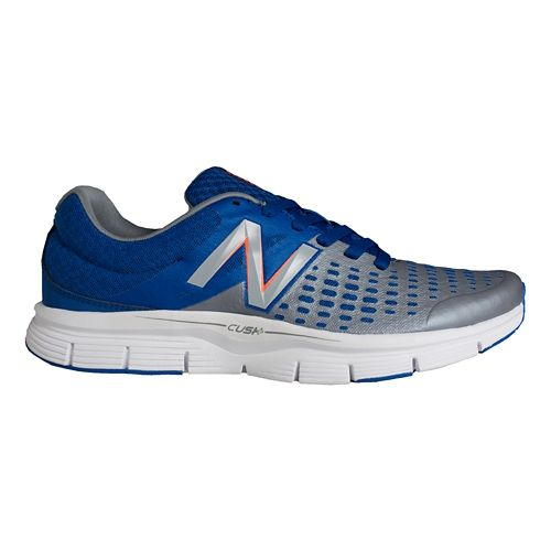 Mens New Balance 775v1 Running Shoe - Grey/Blue 11.5