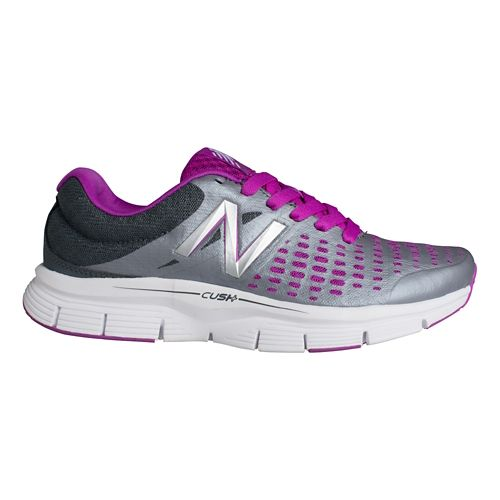 Womens New Balance 775v1 Running Shoe - Silver/Pink 6.5