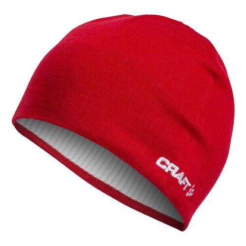 Craft Race Hat Headwear - Bright Red S/M