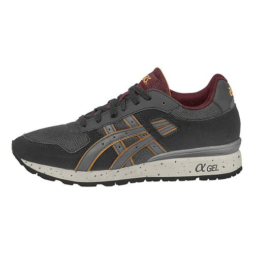 Mens ASICS GT-II Casual Shoe - Dark Gray/Gray 8.5