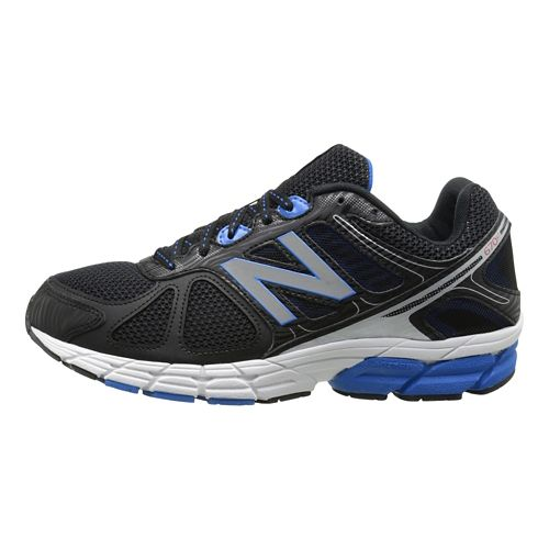 Mens New Balance 670v1 Running Shoe - Blue/Black 10.5