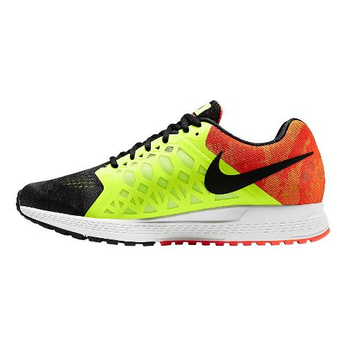 Mens Nike Air Zoom Pegasus 31 Oregon Project Running Shoe - Black/Volt 14