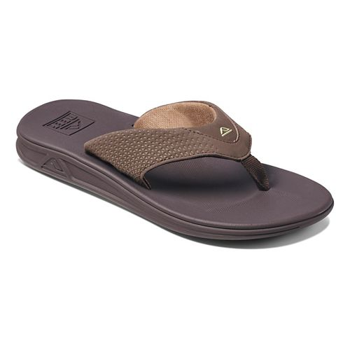 Mens Reef Rover Sandals Shoe - Brown 14