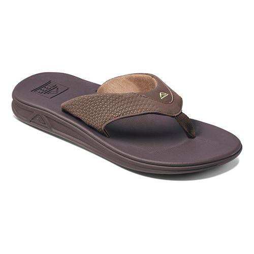 Mens Reef Rover Sandals Shoe - Brown 9