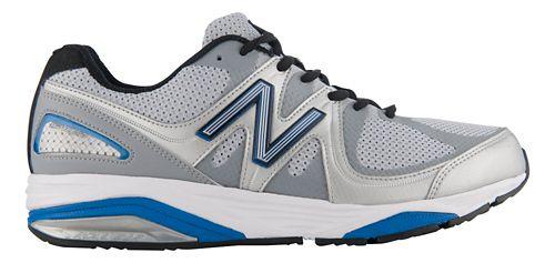 Mens New Balance 1540v2 Running Shoe - Silver/Blue 15