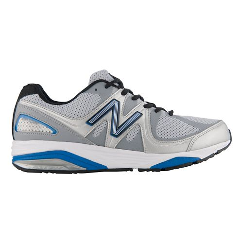 Mens New Balance 1540v2 Running Shoe - Silver/Blue 11
