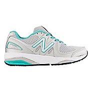 Womens New Balance 1540v2 Running Shoe - Silver/Green 6