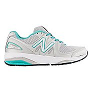 Womens New Balance 1540v2 Running Shoe - Silver/Green 8.5