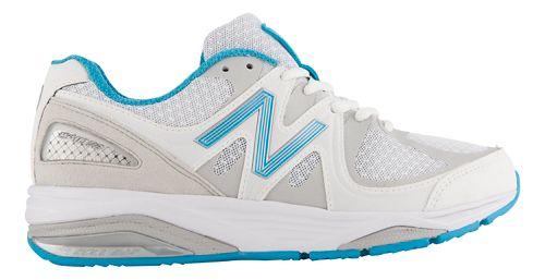Womens New Balance 1540v2 Running Shoe - White/Blue 8