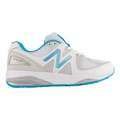 Womens New Balance 1540v2 Running Shoe - White/Blue 10.5