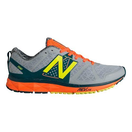 Mens New Balance 1500v1 Running Shoe - Silver/Green 10