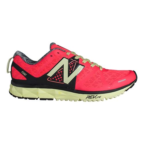 Womens New Balance 1500v1 Running Shoe - Pink/Yellow 5