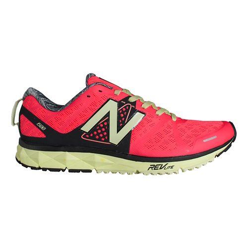 Womens New Balance 1500v1 Running Shoe - Pink/Yellow 8