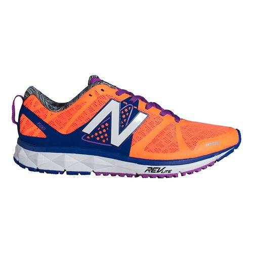 Womens New Balance 1500v1 Running Shoe - Orange/Purple 7.5