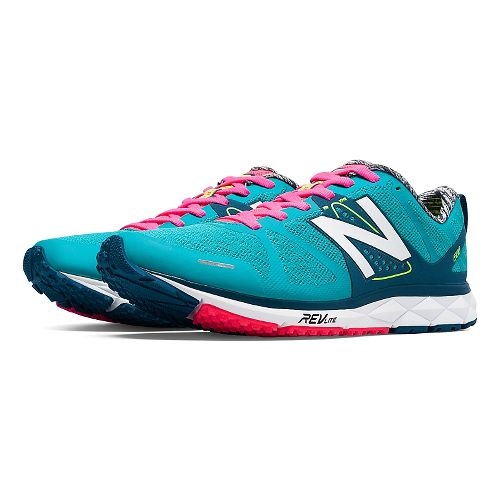 Womens New Balance 1500v1 Running Shoe - Pink/Yellow 10.5