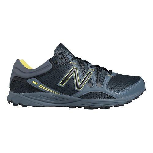 Mens New Balance 101v1 Trail Running Shoe - Lead/Black 10.5