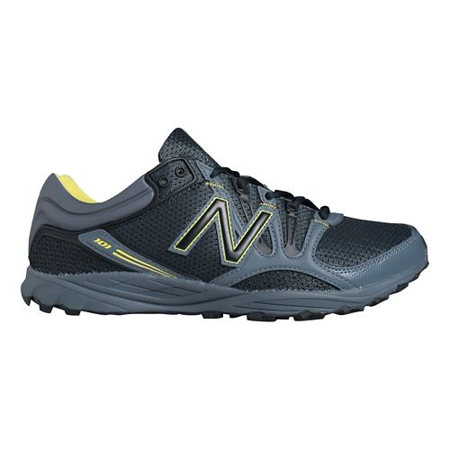 Mens New Balance 101v1 Trail Running Shoe - Lead/Black 11.5