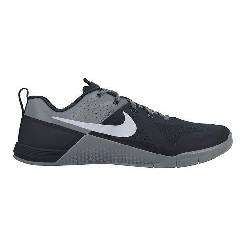 Mens Nike MetCon 1 Cross Training Shoe - Black/Grey 11.5