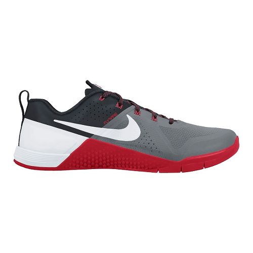 Mens Nike MetCon 1 Cross Training Shoe - Grey/Red 11