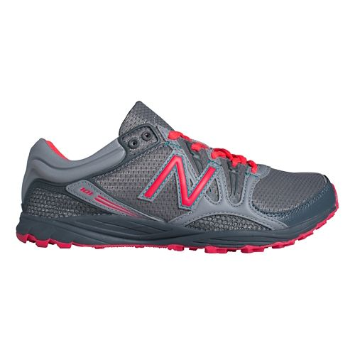 Womens New Balance 101v1 Trail Running Shoe - Steel/Lead 10.5