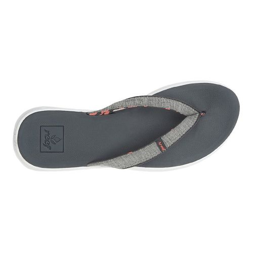 Womens Reef Rover SL Sandals Shoe - Dark Gray 5