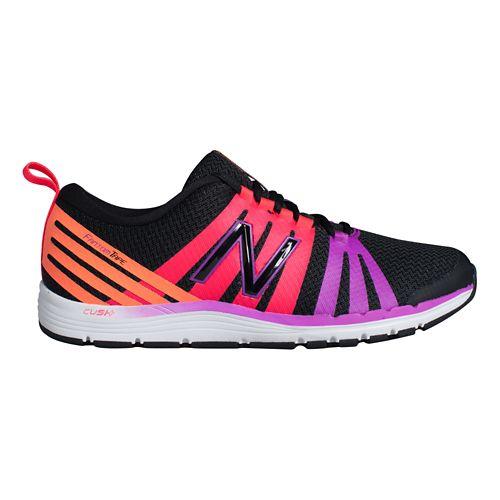 Womens New Balance 811 Cross Training Shoe - Black/Magenta 12