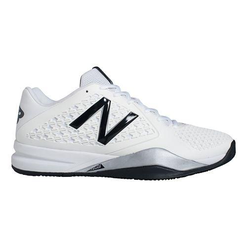 Mens New Balance 996v2 Court Shoe - White 12