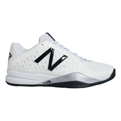 Mens New Balance 996v2 Court Shoe - White 9.5