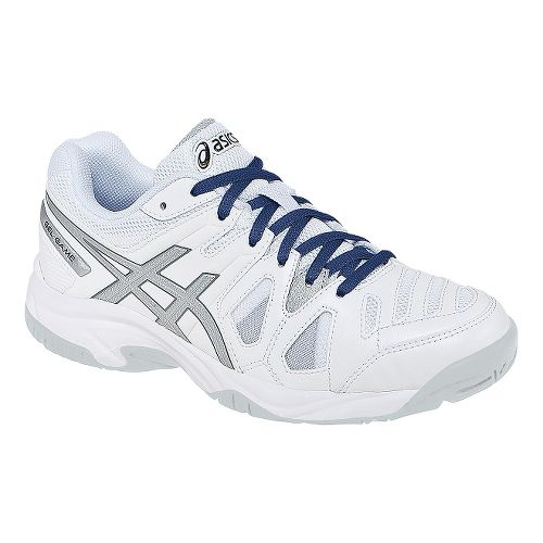 ASICS Kids GEL-Game 5 Court Shoe - White/Silver 2.5Y