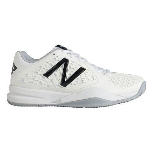 Womens New Balance 996v2 Court Shoe - White 7