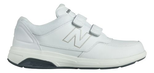 Mens New Balance 813 Walking Shoe - Strap White 8.5