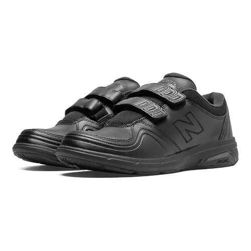 Womens New Balance 813 Walking Shoe - Strap Black 10.5