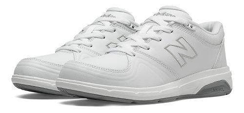 Womens New Balance 813 Walking Shoe - White 8.5