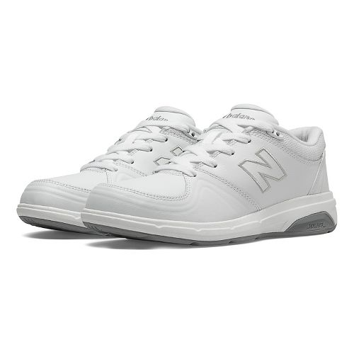 Womens New Balance 813 Walking Shoe - White 5
