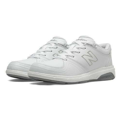 Womens New Balance 813 Walking Shoe - Strap White 7.5